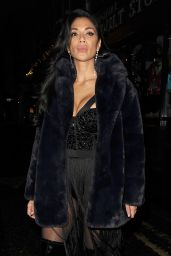 Nicole Scherzinger - Leaving the Boulevard Theater in London 12/09/2019