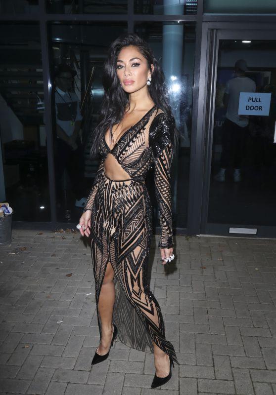 """Nicole Scherzinger - Outside """"The X Factor: Celebrity"""" in London 11/30/2019"""