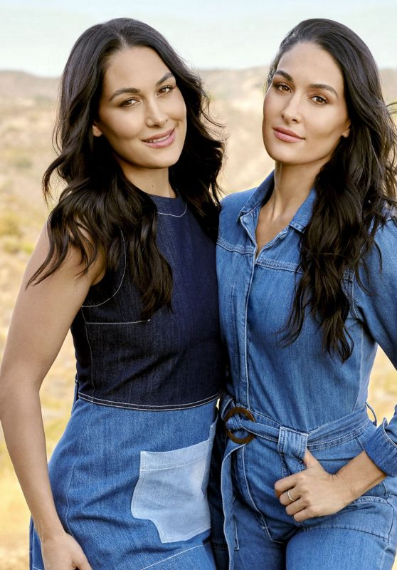 Nikki Bella and Brie Bella - Health Magazine January 2020 Issue