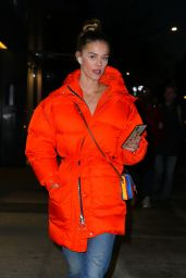 Nina Agdal - Out in New York City 12/20/2019