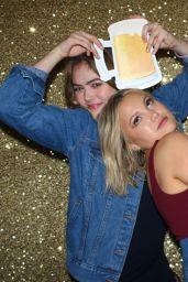 Olivia Holt at a Wedding Photobooth 12/14/2019