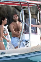 Pippa Middleton and James Matthews - Boat Ride in St. Barths 12/30/2019
