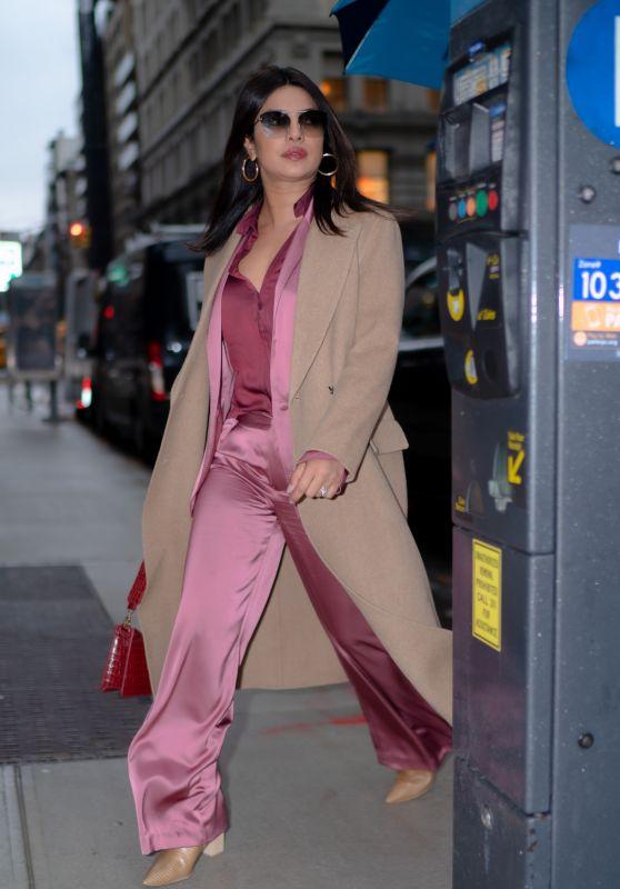 Priyanka Chopra is Stylish - Out in New York 12/17/2019