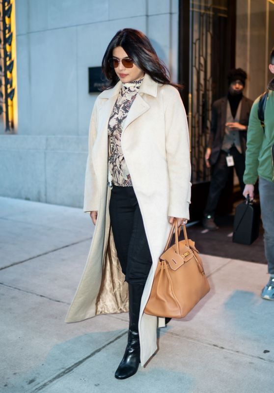 Priyanka Chopra - Leaves Her Appartement in NYC 12/22/2019
