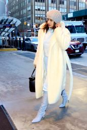 Priyanka Chopra Winter Style - New York City 12/03/2019