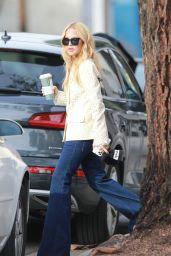 Rachael Zoe in a Beige Blazer - Photoshoot in West Hollywood 12/18/2019
