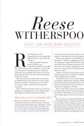 Reese Witherspoon - Longevity Magazine November/December 2019 Issue
