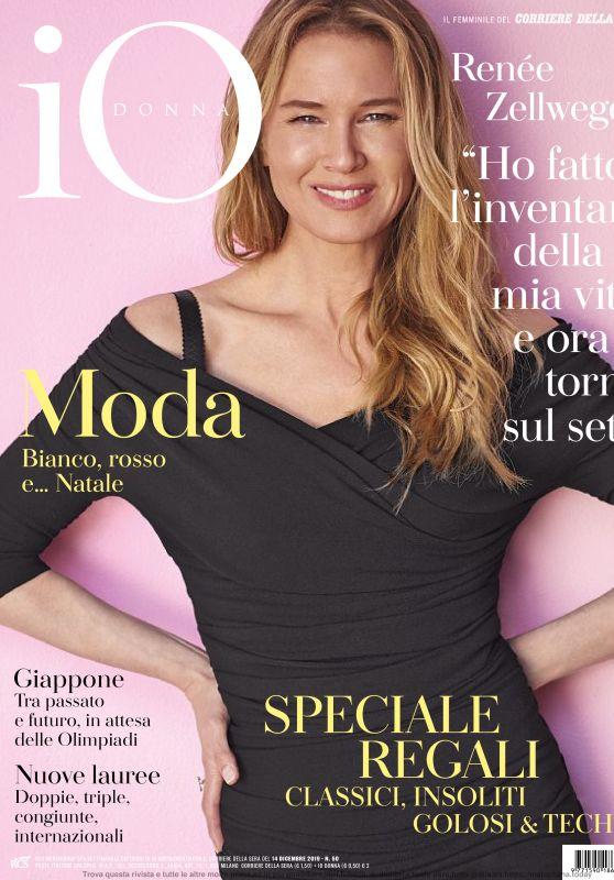 Renée Zellweger - Io Donna del Corriere Della Sera 12/14/2019 Issue