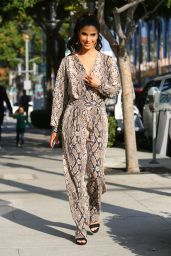 Roselyn Sanchez - Rodeo Drive in Beverly Hills 12/13/2019