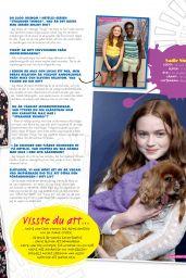 Sadie Sink - Julia Magazine December 2019 Issue