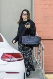 Sandra Bullock - Leaving a Business Meeting in Beverly Hills 12/16/2019