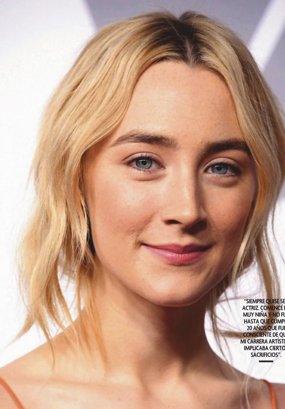 Saoirse Ronan - Fotogramas Magazine January 2020 Issue