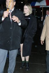 Saoirse Ronan - Outside The Late Show With Stephen Colbert in NYC 12/09/2019