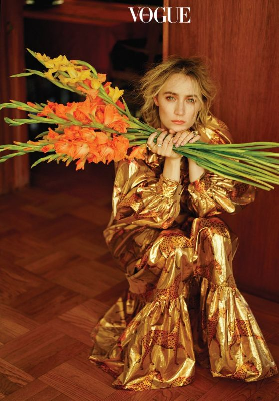Saoirse Ronan - Vogue Magazine Korea January 2020 Photos