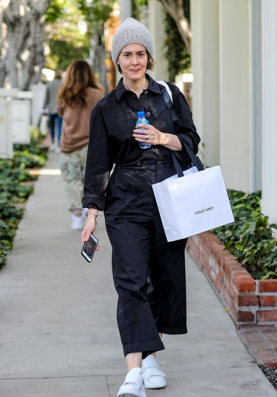 Sarah Paulson - Shops at Violet Grey in West Hollywood 12/20/2019