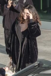 Selena Gomez - Arrives at Heathrow Airport in London 12/02/2019
