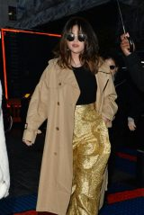 Selena Gomez - Leaving BBC Radio Studios in London 12/11/2019