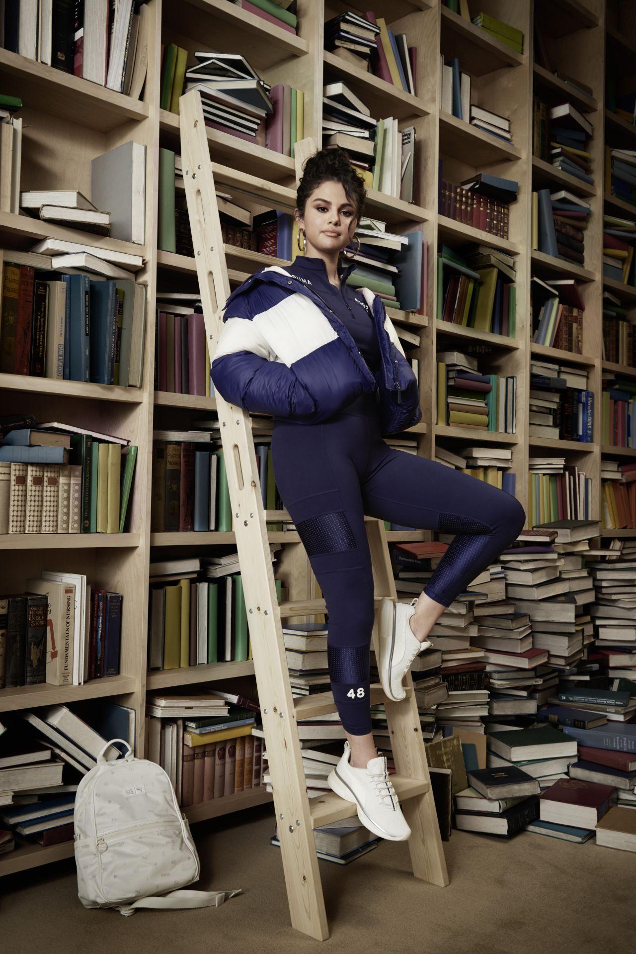 Selena Gomez - SG x PUMA A/W19 Collection HQ Photos ...