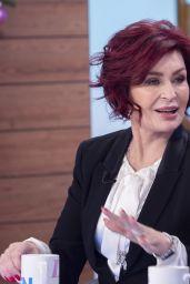 "Sharon Osbourne - ""Loose Women"" TV Show in London 12/18/2019"