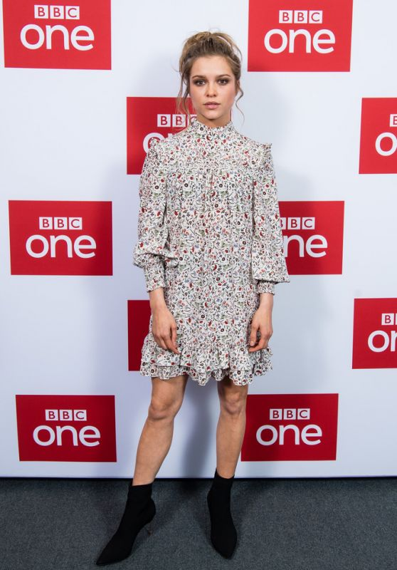 "Sophie Cookson – ""The Trial of Christine Keeler"" Premiere in London"