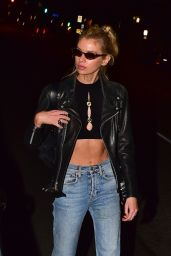 Stella Maxwell Night Out - Dinner at Chateau Marmont in West Hollywood 12/28/2019