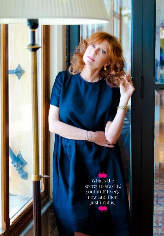 Susan Sarandon - Good Housekeeping UK January 2020 Issue