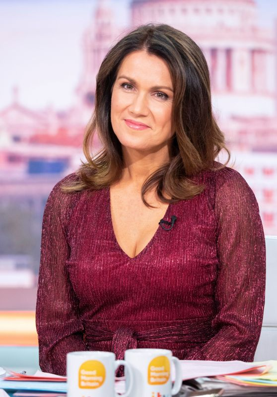 Susanna Reid - Good Morning Britain TV Show in London 12/09/2019
