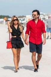 Sylvie Meis and Nicals Castello - Out in Miami Beach 12/05/2019