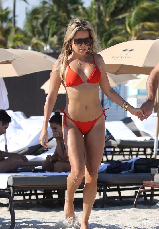 Sylvie Meis in a Bikini 12/01/2019
