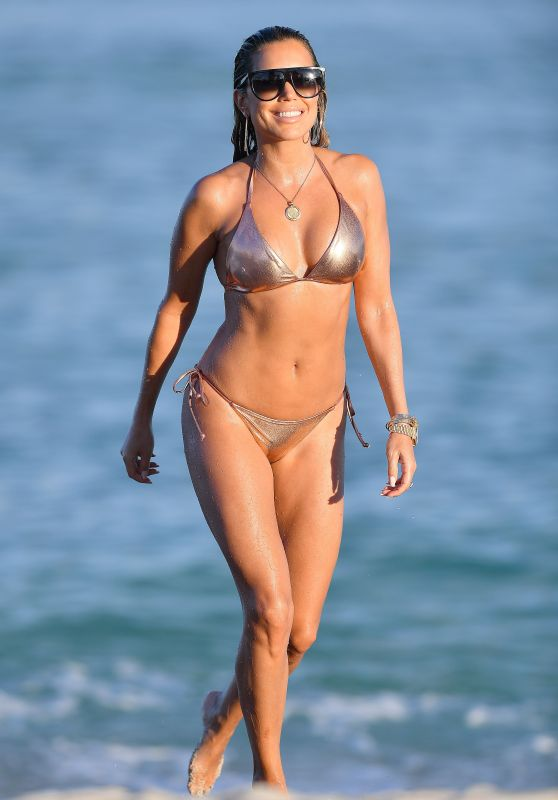Sylvie Meis in a Bikini 12/04/2019