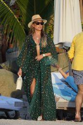 Sylvie Meis in a Bikini 12/28/2019