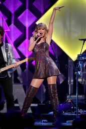 Taylor Swift Performs at Z100's iHeartRadio Jingle Ball 2019 in NYC