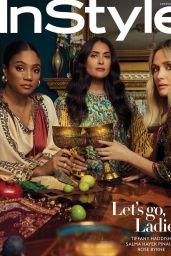 Tiffany Haddish, Salma Hayek and Rose Byrne - InStyle Magazine US January 2020
