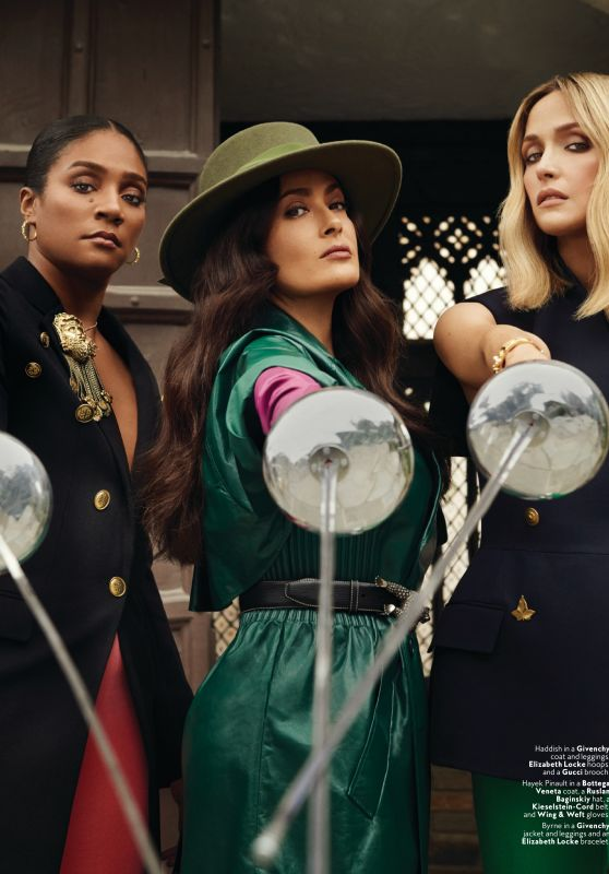 Tiffany Haddish, Salma Hayek and Rose Byrne – InStyle US January 2020 Issue
