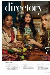 Tiffany Haddish, Salma Hayek and Rose Byrne – InStyle US January 2020 Issue