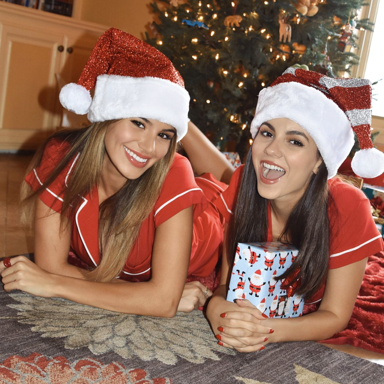 Victoria Justice and Madison Reed - Social Media 12/28