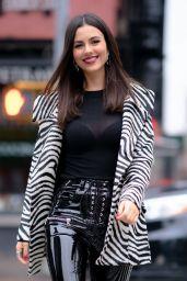 Victoria Justice Street Fashion 12/10/2019