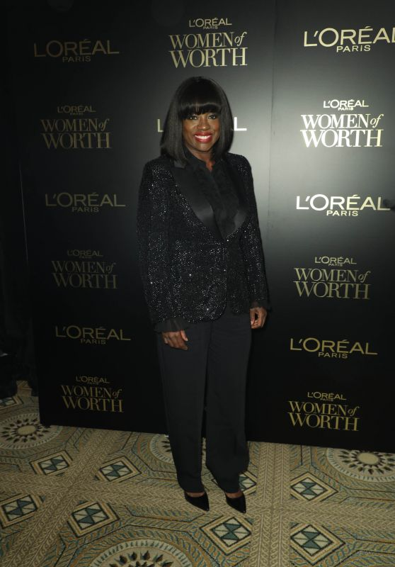 Viola Davis – L'Oreal Paris Women Of Worth Awards 2019 in NYC