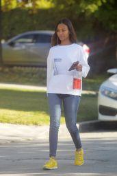 Zoe Saldana Street Style - Beverly Hills 12/13/2019