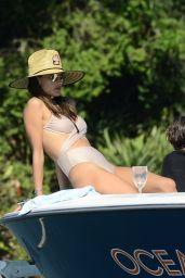 Alessandra Ambrosio in a Bikini 01/07/2020