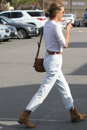 Alessandra Ambrosio - Out in Brentwood 01/21/2020