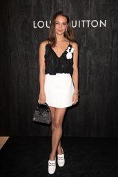 Alicia Vikander - Louis Vuitton: Jewelry Launch at Paris Fashion Week 01/21/2020