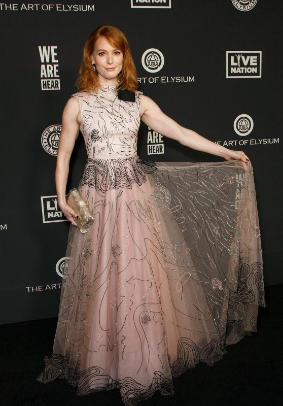 "Alicia Witt – The Art Of Elysium's 13th Annual ""Heaven"" Gala"