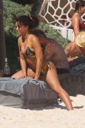 Alisha Wainwright in a Bikini - Tulum 01/25/2020