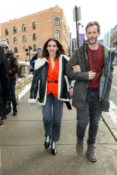 Alison Brie - Out in Park City 01/27/2020