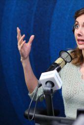 Alison Brie - Visits SiriusXM Studios in Los Angeles 01/23/2020