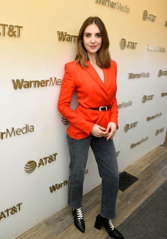 Alison Brie - WarnerMedia Lodge at Sundance Film Festival 01/27/2020
