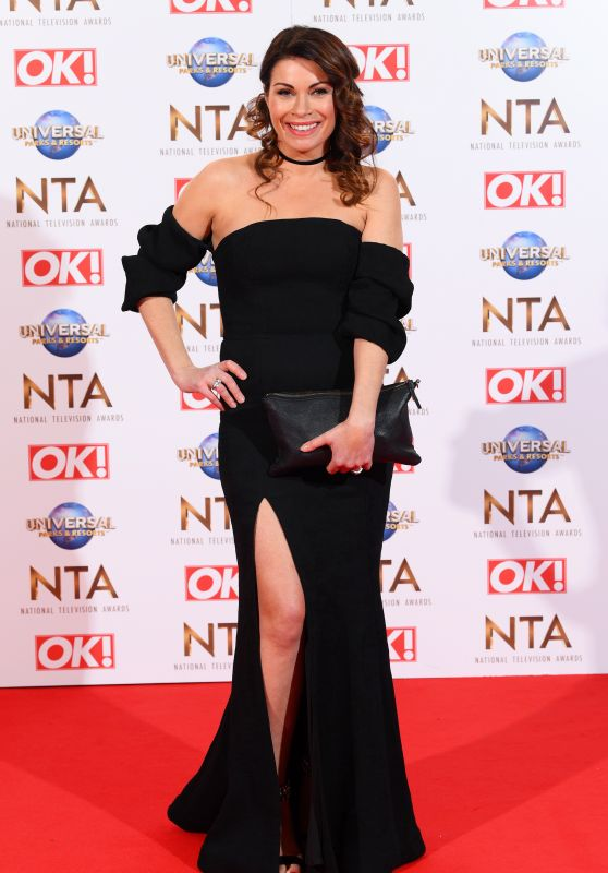 Alison King – National Television Awards 2020 in London