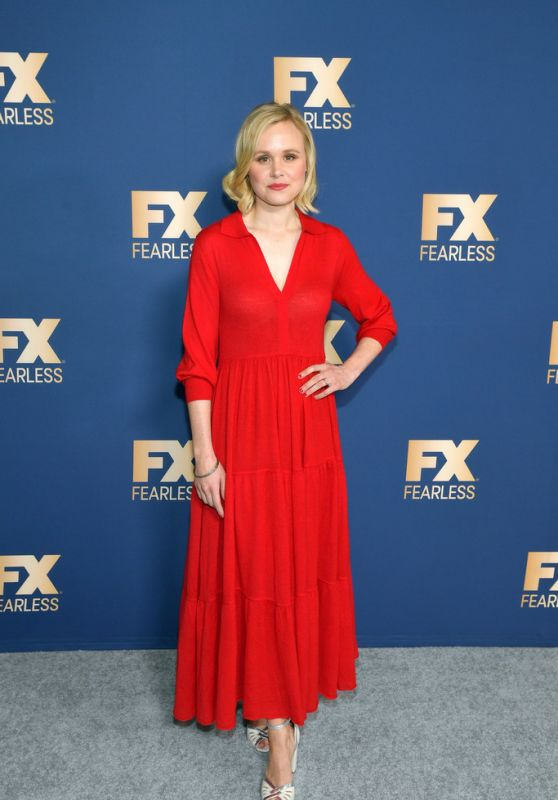 Alison Pill - Fox TCA All Star Party in Pasadena 01/09/2020