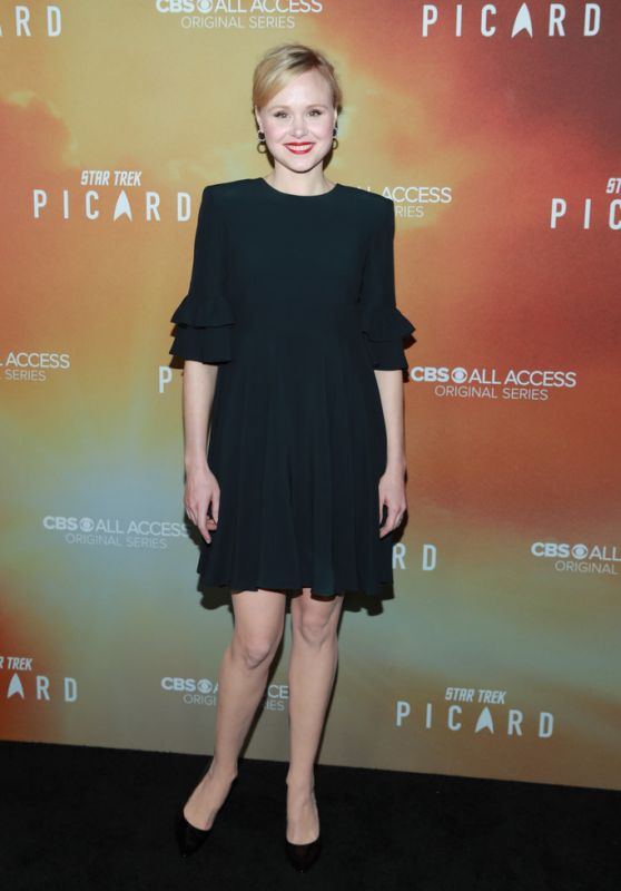 "Alison Pill - ""Star Trek: Picard"" Premiere in Hollywood"